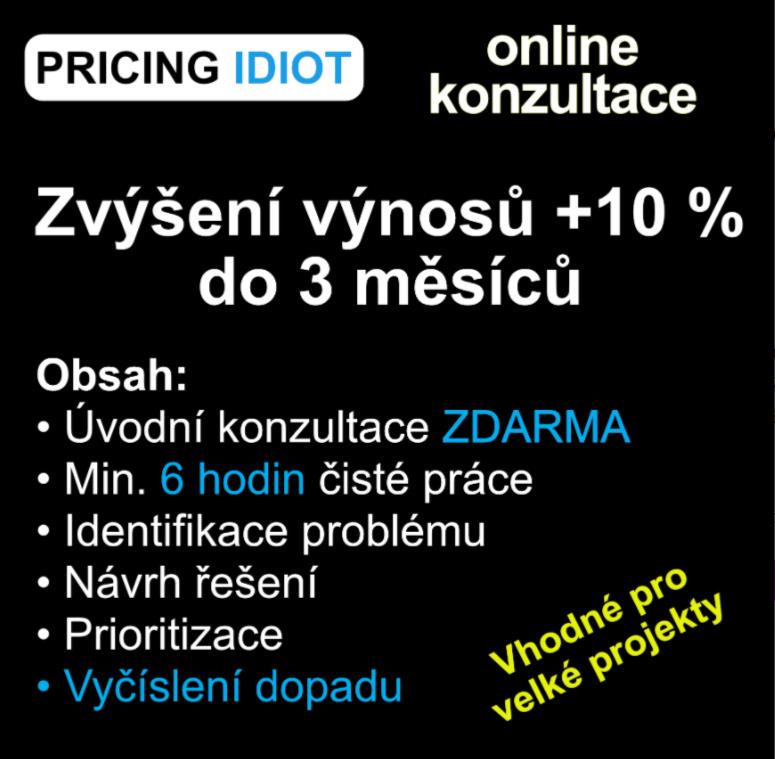 Popis konzultace s Václavem Lorencem, která nabízí zvýšení výnosů 10 % do 3 měsíců